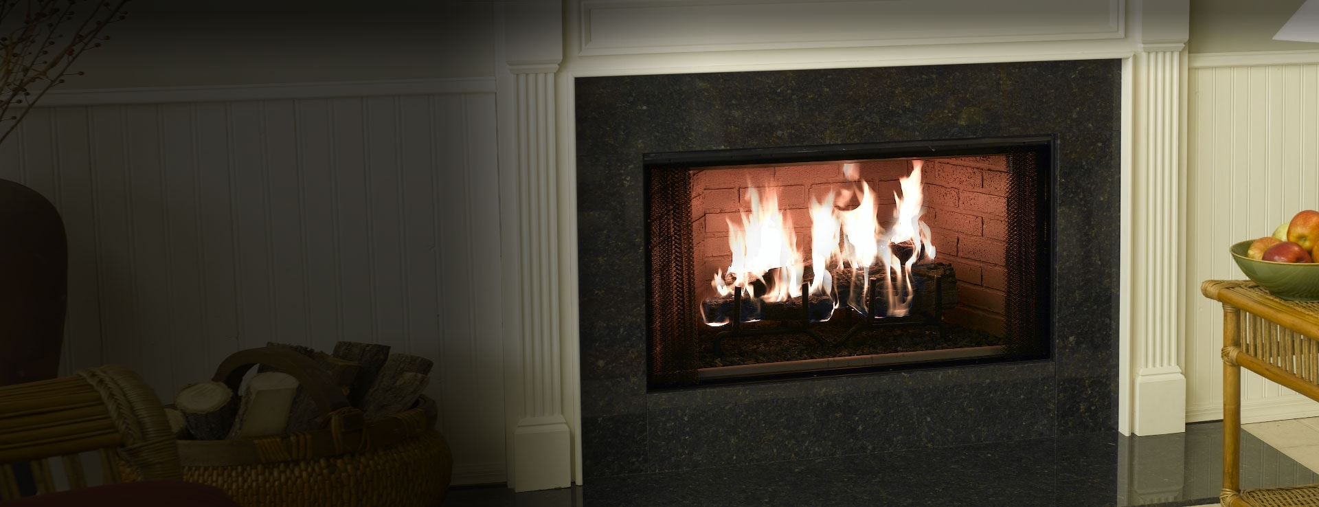 <p>Element Wood Fireplace</p>