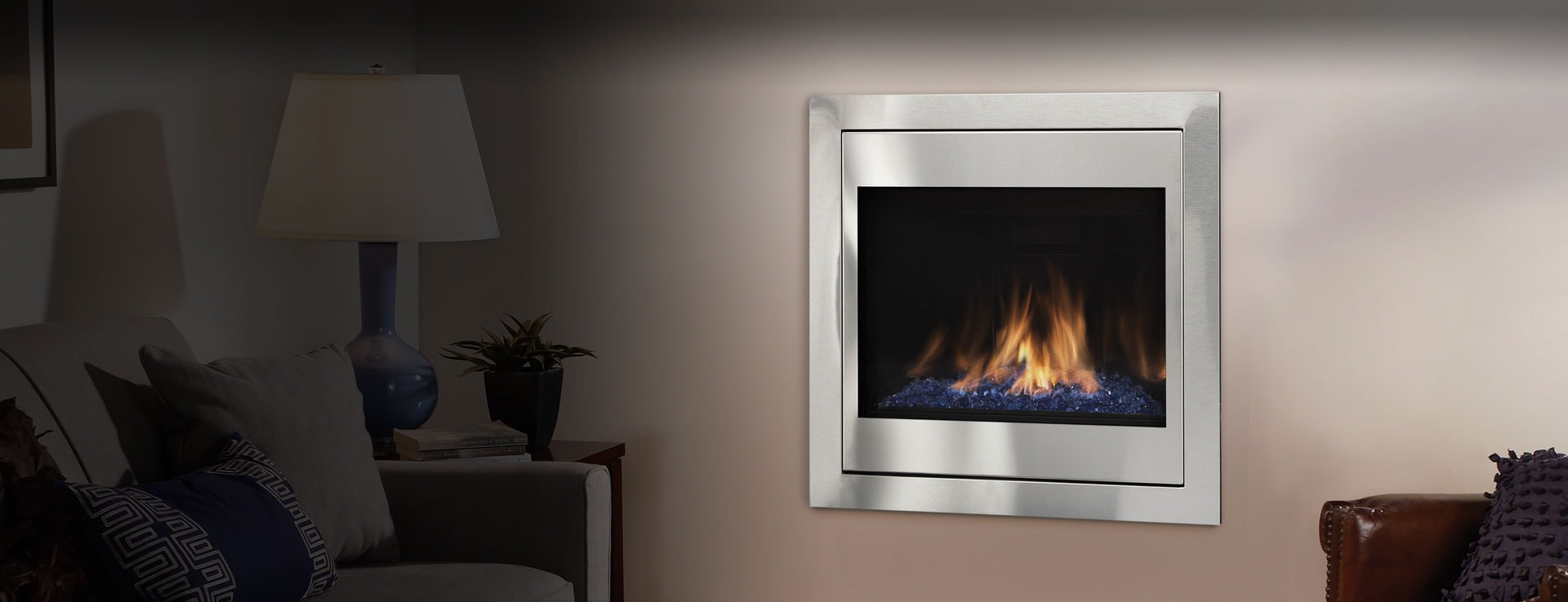<p>Novus Evolution Gas Fireplace</p>
