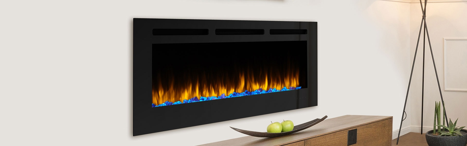 <p>SimpliFire Allusion Electric Fireplace</p>